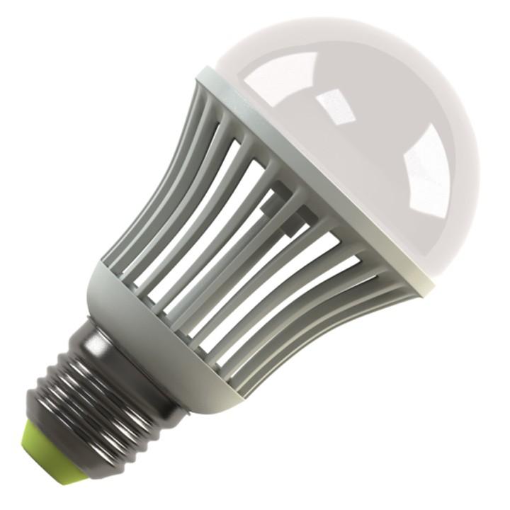 Лампочка Ecomir E27 5.5W 3000K 220V 570Lm матовая, желтый свет, экв. 60W 42920