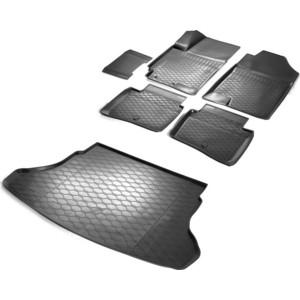Комплект ковриков салона и багажника Rival для Hyundai Solaris II седан (2017-н.в.) / Kia Rio IV седан (2017-н.в.), полиуретан, без крепежа, K12305007-8