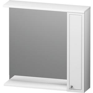 Зеркальный шкаф RedBlu by Damixa Palace One 75 правый, белый глянец (M41MPR0751WG)
