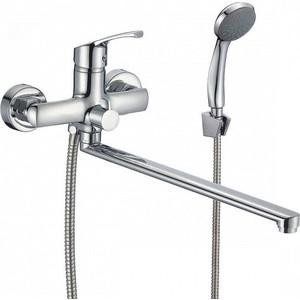 Смеситель для ванны Milardo Sterm с длинным изливом и душем, хром (STESB02M10)