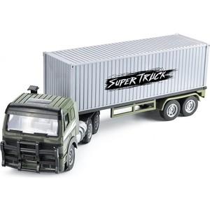 Радиоуправляемый контейнеровоз Zhoule Toys Радиоуправляемый контейнеровоз CityTruck 1/18 - 551-B1