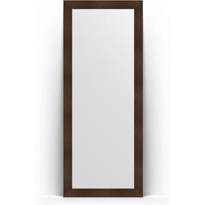Зеркало напольное Evoform Definite Floor 81x201 см, в багетной раме - бронзовая лава 90 мм (BY 6010)