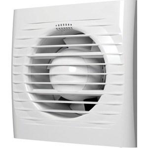 Вентилятор AURAMAX осевой вытяжной со шнуровым тяговым выключателем D 100 (OPTIMA 4-02)