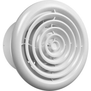 Вентилятор AURAMAX осевой вытяжной с антимоскитной сеткой обратным клапаном D 100 (RF 4S C)