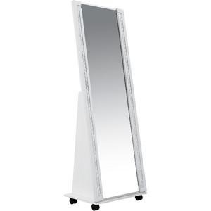 Зеркало напольное Комфорт - S Гертруда М 7 белая лиственница/ясень жемчужный