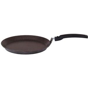 Сковорода блинная Kukmara 20см Кофейный мрамор (сбмк200а)
