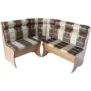 Кухонный угловой диван Гамма Уют 136х136 шенилл