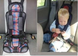 Бескаркасное авто-кресло для детей