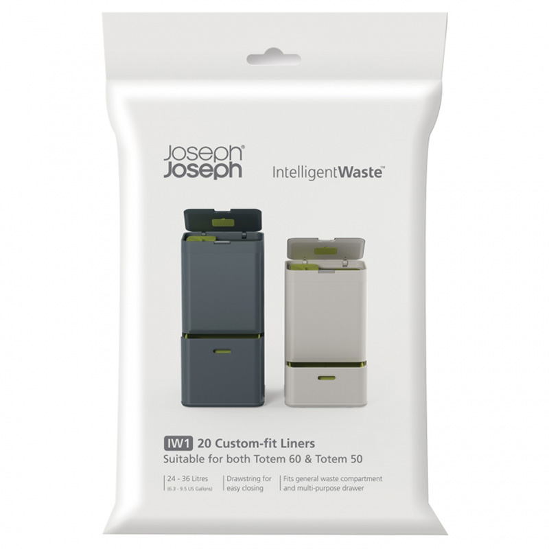 Пакеты для мусора General waste (20 штук)