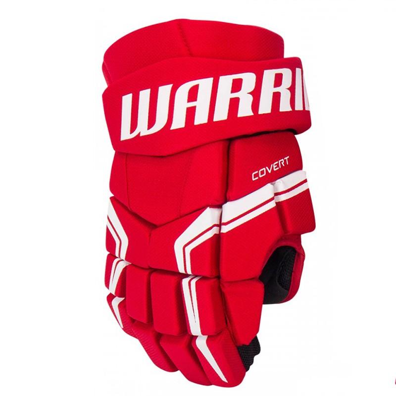 Перчатки хоккейные Warrior Covert QRE5, Q5GSR8-RD12