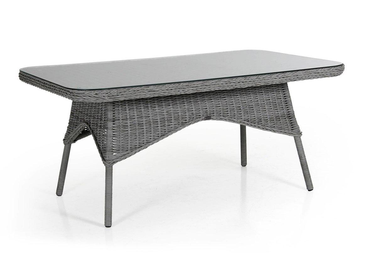 Плетеный стол Evita grey