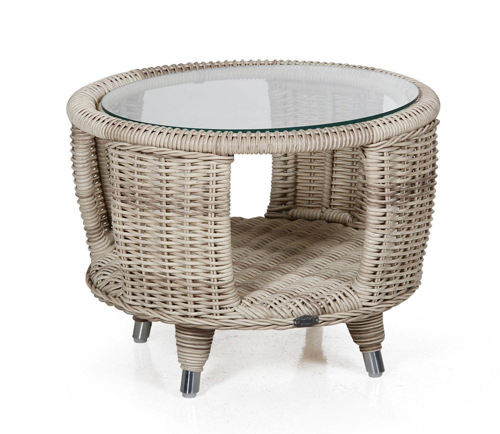 Плетеный стол Evita-Silva beige