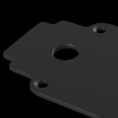 Аксессуар для трекового светильника Maytoni TRA004EC-22B Accessories for tracks