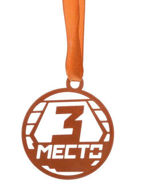 Медаль из листового железа \