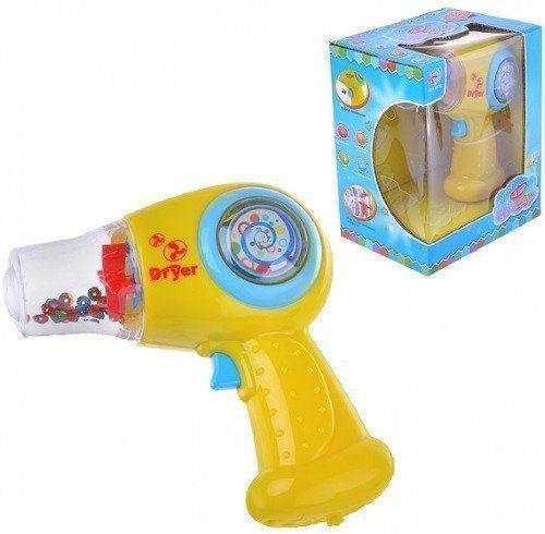 Фен игрушечный со светом и звуком
