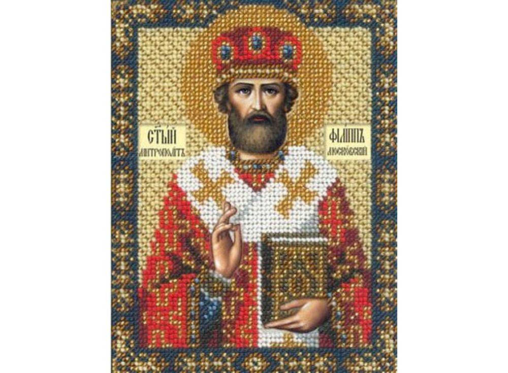 Набор вышивки бисером «Святой Филипп»