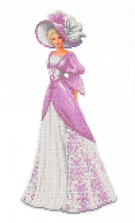 Рисунок на ткани «Натали»